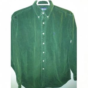 Polo by Ralph Lauren men's large corduroy shirt